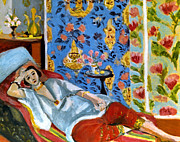 Odalisque Photo Framed Prints - Matisse: Odalisque, 1922 Framed Print by Granger