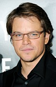 Bureau Prints - Matt Damon  At Arrivals For The Print by Everett