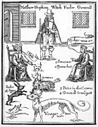 Discrimination Prints - MATTHEW HOPKINS (d. 1647) Print by Granger