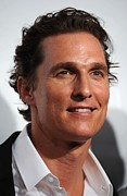 Cipriani Restaurant Wall Street Metal Prints - Matthew Mcconaughey At Arrivals Metal Print by Everett