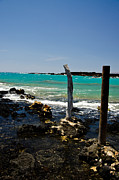 La Perouse Bay Prints - Maui Blue Print by Keith Ducker