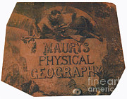 Publication Prints - Maurys Physical Geography Print by Science Source