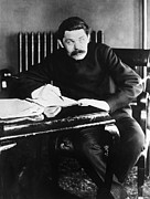 1920 Framed Prints - Maxim Gorki (1868-1936) Framed Print by Granger