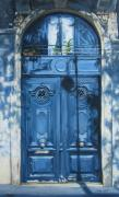 French Door Painting Prints - May Morning in Paris Print by Anda Kett