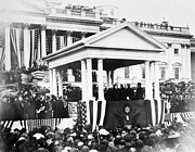 1901 Photo Posters - McKINLEY INAUGURATION, 1901 Poster by Granger