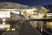 Buidling Metal Prints - Melbourne Convention Center Metal Print by Douglas Barnard