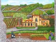 Grape Vineyards Originals - Melville Magic by Mikki Alhart