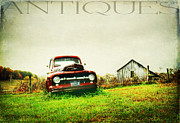 Blue Chevy Prints - Memories Print by Darren Fisher