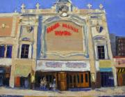 Theatre Painting Originals - Memories Loews Paradise Bronx by Gail Eisenfeld