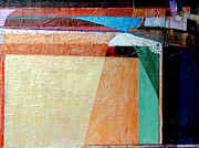 Jaguars Paintings - Memory of Diebenkorn by Gordon Swayze
