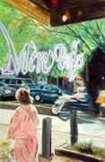 Nashville Tennessee Paintings - Mere Bulles by George Grace