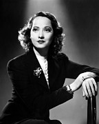 Bracelet Framed Prints - Merle Oberon, Ca. 1930s Framed Print by Everett