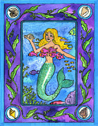 Pamela Corwin Art - Mermaid by Pamela  Corwin