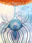 Messages From The Cosmos Print by Judy M Watts - Rohanna