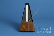 Music Time Prints - Metronome Print by Photo Researchers, Inc.