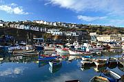 Kernow Framed Prints - Mevagissey Framed Print by Carl Whitfield