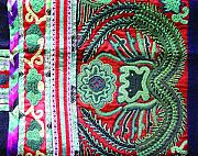 Hong Kong Tapestries - Textiles - Miao costumes by He Hong