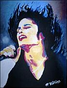 Michael Jackson Portrait Painting Originals - Michael Jackson by Michelle Williams