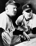 Mickey Mantle Photos - Mickey Mantle (1931-1995) by Granger