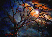 What Is Life?  Art - Midnight Splendor by Lyn Deutsch