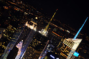 New York City Skyline Photos - Midtown Skyline by Mike Lindwasser Photography