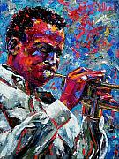 Musician Paintings - Miles Davis by Debra Hurd