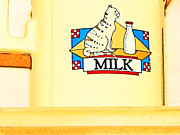 Folk Art Photos - Milk by Lenore Senior