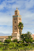 Moroccan Framed Prints - Minaret Of The Koutoubia Mosque, Marrakesh Framed Print by Nico Tondini