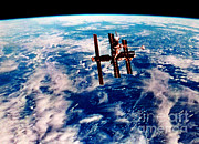 Outer Space Photos - Mir Space Station by Nasa