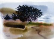 Juniper Paintings - Miramonte Beach by Donald Maier