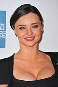 Kerr Framed Prints - Miranda Kerr At Arrivals For The Good Framed Print by Everett