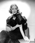 Evening Dress Framed Prints - Miriam Hopkins, Ca. 1930s Framed Print by Everett