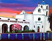 Lila Fleetwood Spence - Mission San Luis Rey