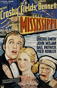 Bing Photos - Mississippi, Bing Crosby, Joan Bennett by Everett
