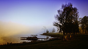 Www.restlesslightphotography.com Posters - Misty Morning on Lake Jaunita Poster by Lynn Palmer