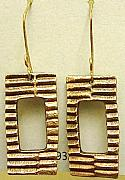 Handcrafted Jewelry Originals - Modern Rectangles by Cydney Morel-Corton