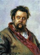 Modest Framed Prints - Modest Mussorgsky Framed Print by Granger