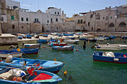 Travel Prints - Monopoli - Apulia Print by Joana Kruse