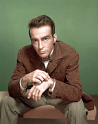 1950s Fashion Posters - Montgomery Clift Poster by Everett
