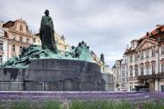 Jan Posters - Monument Jan Hus Poster by Andre Goncalves