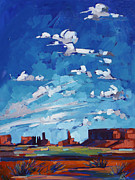 Monument Sky Print by Erin Hanson