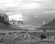 Utah Sky Framed Prints - Monument Valley Afternoon Framed Print by Troy Montemayor