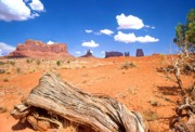 Red-rock Country Prints - Monument Valley Print by John Foote