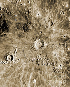 Copernicus Prints - Moon Surface Print by Omikron