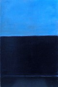 Rothko Painting Originals - Moonlight Bay by Mel Andrews