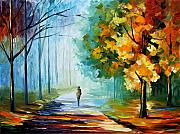 Leonid Afremov - Morning Fog