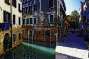 Croce Prints - Morning Light in Venice Print by George Oze