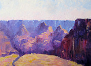 National Parks Paintings - Morning Light by Terry  Chacon