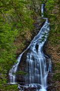 High Falls Gorge Prints - Moss Glen Falls Print by Mike Horvath