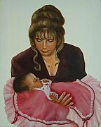 Mother Framed Prints - Mother and Child Framed Print by Joni McPherson